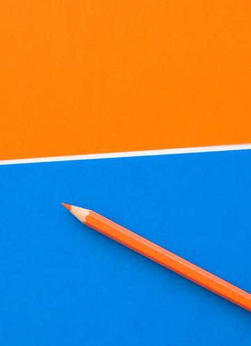 Orangenstift Lifestyle Stil Design Freude Bildung Wissenschaften Schule lernen Student Arbeit & Erwerbstätigkeit Beruf Büroarbeit Arbeitsplatz Business Karriere