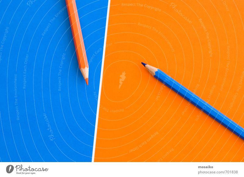 blau weiß sprechen Spielen Denken Hintergrundbild Schule Arbeit & Erwerbstätigkeit orange Erfolg Kommunizieren Studium lernen Idee einzigartig Bildung