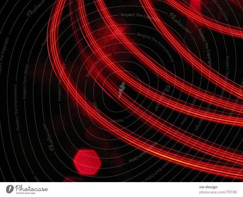 redlightdistrict Langzeitbelichtung Lampe Feld Bürgersteig Fußweg Schriftzeichen Symbole & Metaphern dunkel Beleuchtung Nachtaufnahme Außenaufnahme