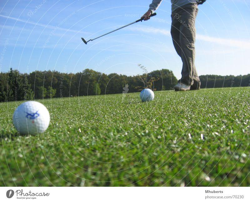 2 Balls Club Natur Golf balls grass the netherlands course putting