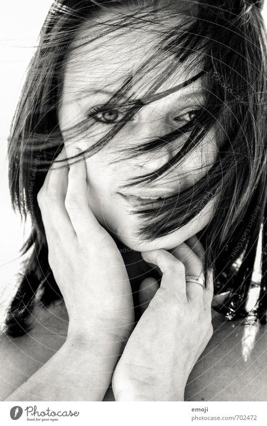 hide Mensch Jugendliche schön Junge Frau 18-30 Jahre Erotik Erwachsene Gesicht feminin Haare & Frisuren