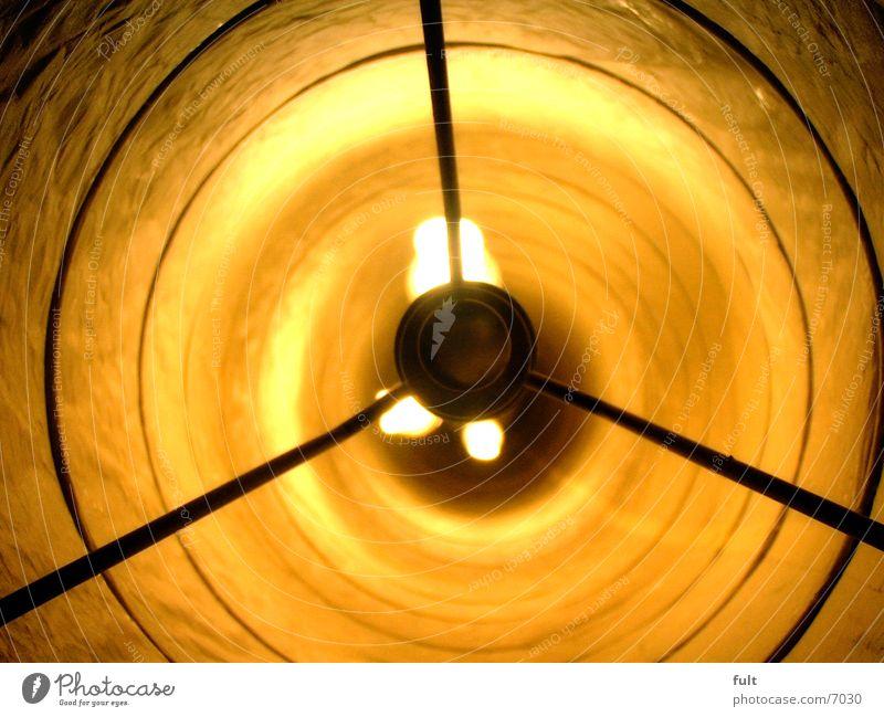 Lampe gelb Häusliches Leben