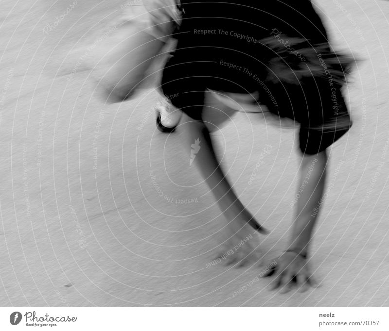 move Hand beweglich Geschwindigkeit Breakdancer Bewegung Tanzen Jugendliche