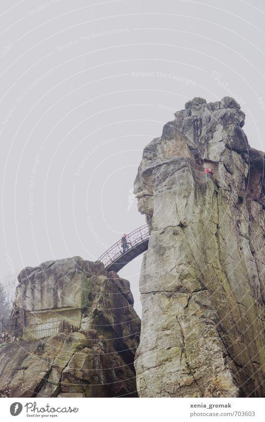Externsteine Freizeit & Hobby Ferien & Urlaub & Reisen Tourismus Ausflug Abenteuer Ferne Freiheit Berge u. Gebirge wandern Umwelt Natur Landschaft Tier
