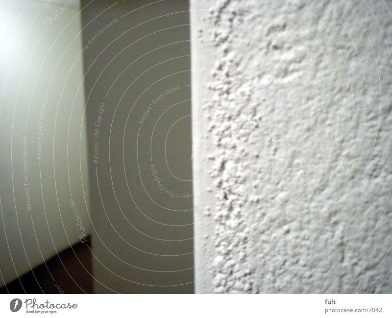 Kellerwände weiß Wand Architektur Putz