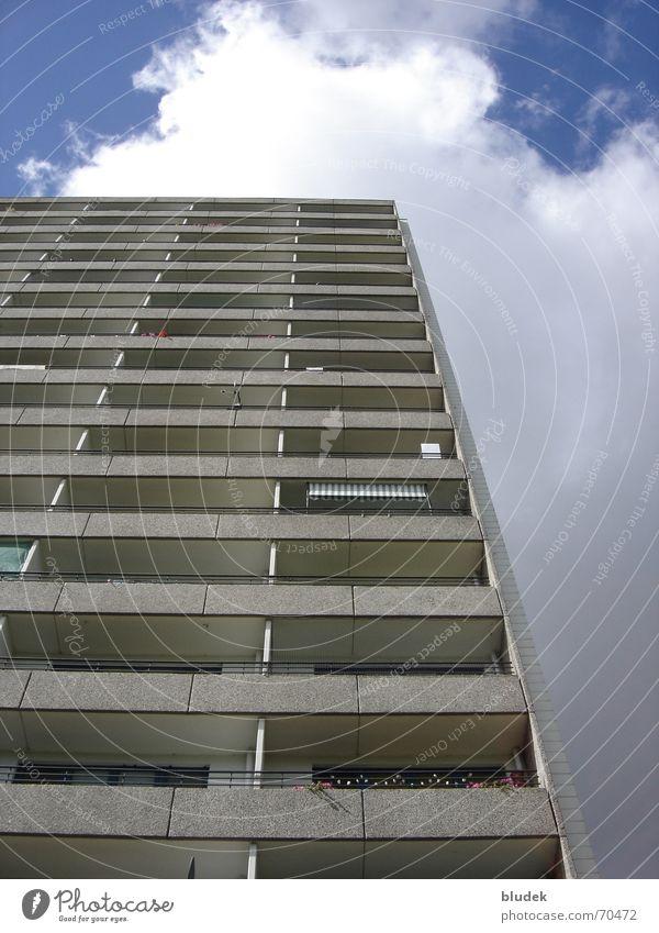 Hochhaus Himmel Gebäude Hochhaus Etage Bremen Osterholz
