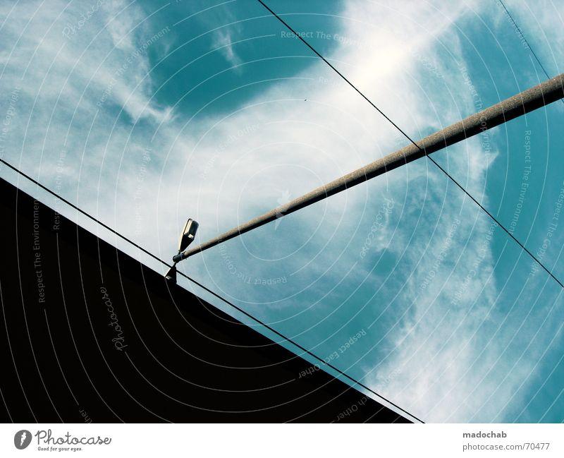 I REALLY DO  himmel wolken clouds energie form laterne grafik Himmel blau Wolken Stil Freiheit fliegen oben Wetter Schönes Wetter Grafik u. Illustration