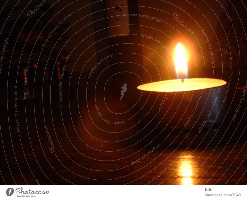 Teelicht Kerze Wachs Häusliches Leben Brand Flamme Kerzendocht