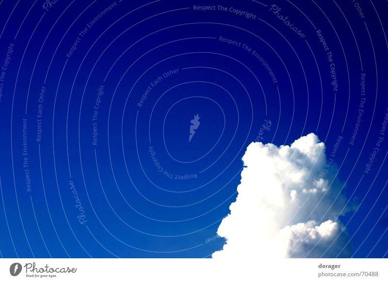 Mountain View Himmel weiß blau Wolken Freiheit Stimmung strahlend himmelblau beeindruckend Gewitterwolken azurblau Regenwolken Wolkenberg