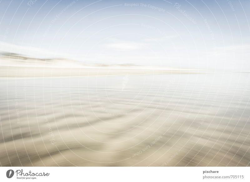 Ninety Mile Beach Landschaft Sand Schönes Wetter Strand exotisch Neuseeland Farbfoto Außenaufnahme Menschenleer Tag Unschärfe Bewegungsunschärfe