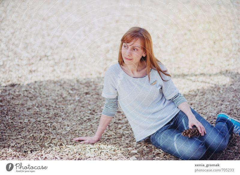 der Frühling beginnt Mensch Frau Kind Ferien & Urlaub & Reisen Jugendliche Sommer Sonne Junge Frau 18-30 Jahre Umwelt Erwachsene Leben Herbst feminin Spielen