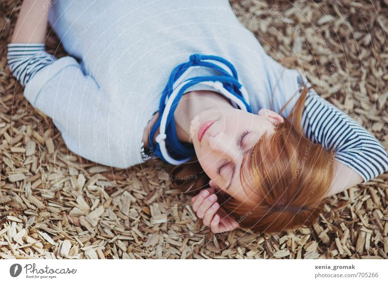 ein schöner Tag Mensch Frau Kind Jugendliche Ferien & Urlaub & Reisen Sommer Erholung Junge Frau ruhig 18-30 Jahre Erwachsene Leben feminin Spielen Freiheit
