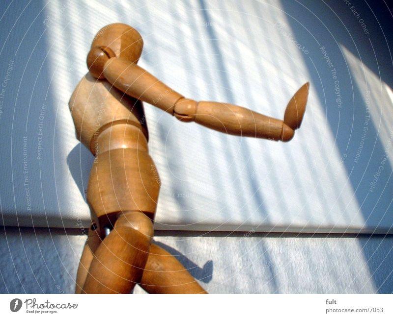 Zeichenpuppe-2 Gliederpuppe Holz Tapete Körperhaltung Fototechnik Puppe Schatten