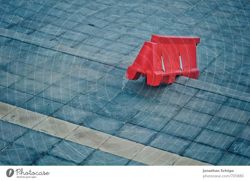 *** 777 *** Puerto de la Cruz / Teneriffa XLI Stadt Stadtzentrum Treppe ästhetisch außergewöhnlich Zufriedenheit Farbe Farbenspiel Kontrast rot blau Baustelle