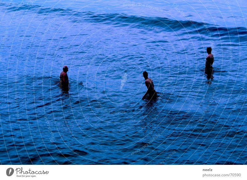 frutti di mare Mann Wasser Meer blau kalt Wellen Schwimmen & Baden Ostsee
