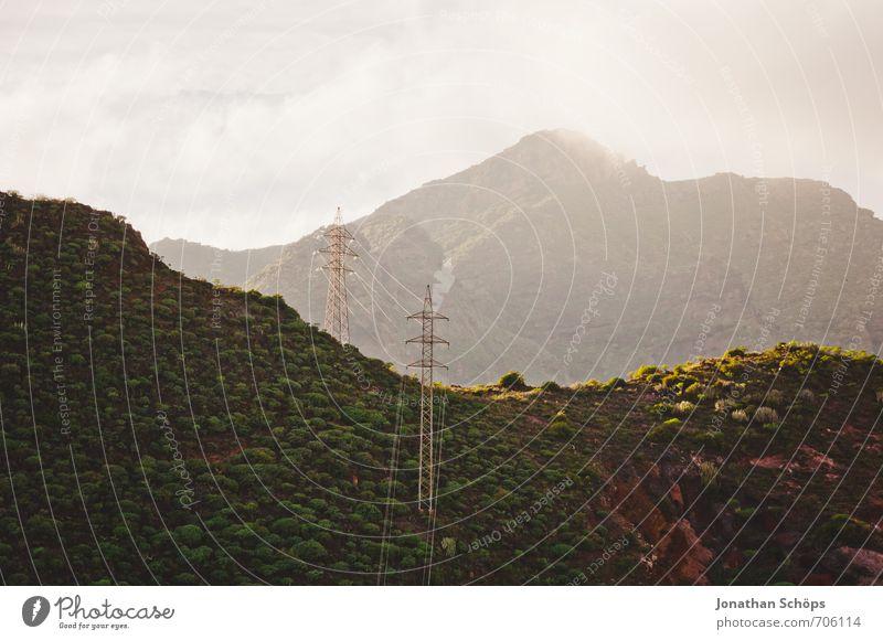 San Andrés / Teneriffa XXVIII Natur Landschaft dunkel Umwelt Berge u. Gebirge Küste Felsen Energiewirtschaft Sträucher wandern ästhetisch Insel Elektrizität