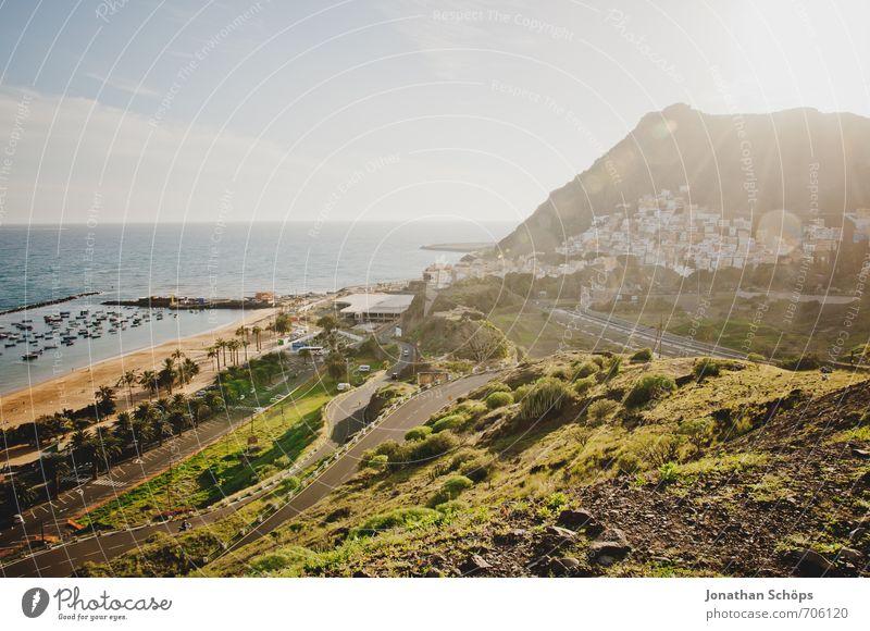 San Andrés / Teneriffa XXXVIII Umwelt Natur Landschaft Pflanze Himmel Sonne Sonnenlicht Sommer Schönes Wetter Felsen Berge u. Gebirge Wellen Küste Strand Bucht