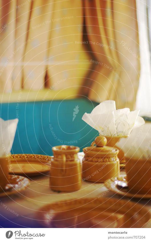 echt   Retro Geschirr Teller Tasse Freizeit & Hobby Camping Ferien & Urlaub & Reisen Innenarchitektur Dekoration & Verzierung Möbel Tisch Raum Wohnwagen Kitsch