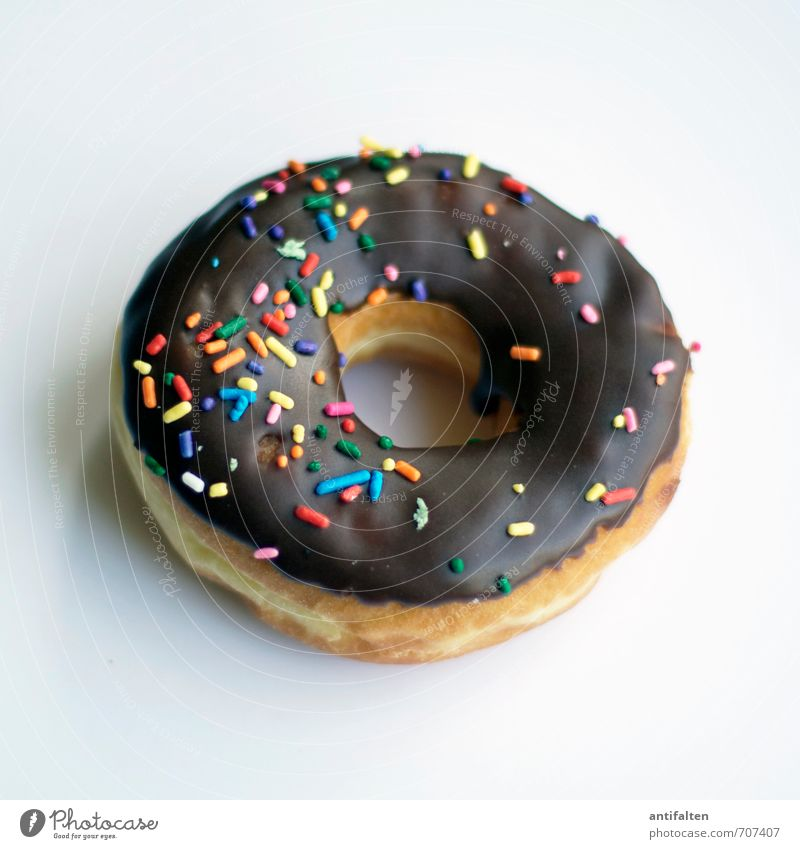 300 bunte Streusel Lebensmittel Teigwaren Backwaren Dessert Süßwaren Schokolade Donut Ernährung Essen Kaffeetrinken Kuchen Feste & Feiern Muttertag Karneval