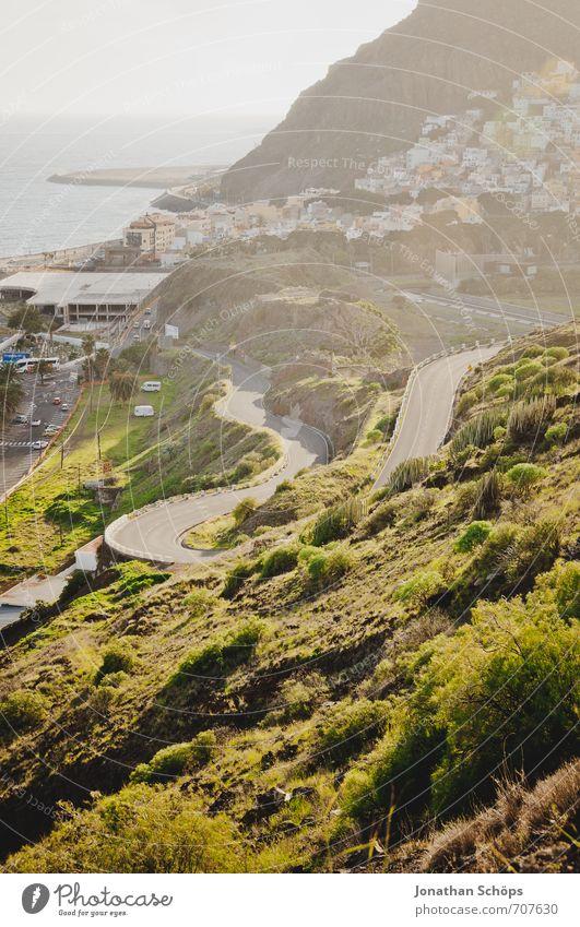 San Andrés / Teneriffa XIX Natur Ferien & Urlaub & Reisen Pflanze Meer Erholung Landschaft Umwelt Berge u. Gebirge Wärme Straße Reisefotografie Küste Felsen