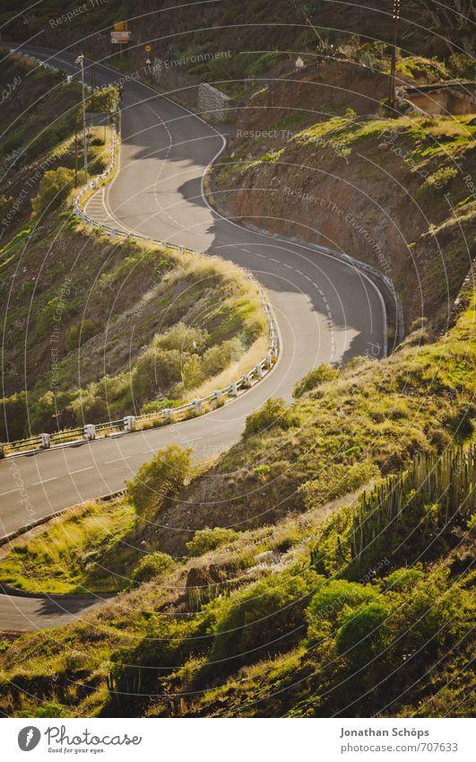 San Andrés / Teneriffa XXXVII Umwelt Natur Landschaft Pflanze ästhetisch Straße Wege & Pfade Schlangenlinie Verkehrswege Kanaren Spanien