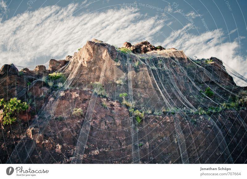 San Andrés / Teneriffa XXXII Umwelt Natur Landschaft Himmel Pflanze Gras Sträucher Hügel Felsen Berge u. Gebirge Gipfel ästhetisch Kanaren Spanien Süden