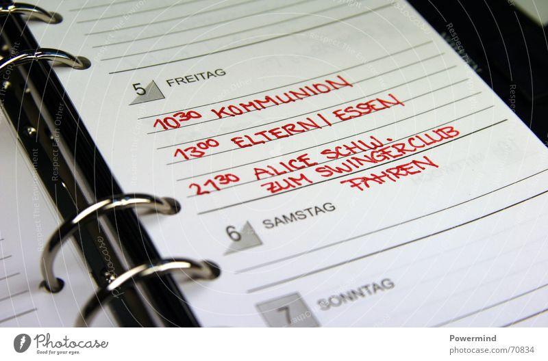 WichtigeTermine Notizbuch Pflicht anmelden Freundschaft Club Kalender timer zuerledigen todo Termin & Datum