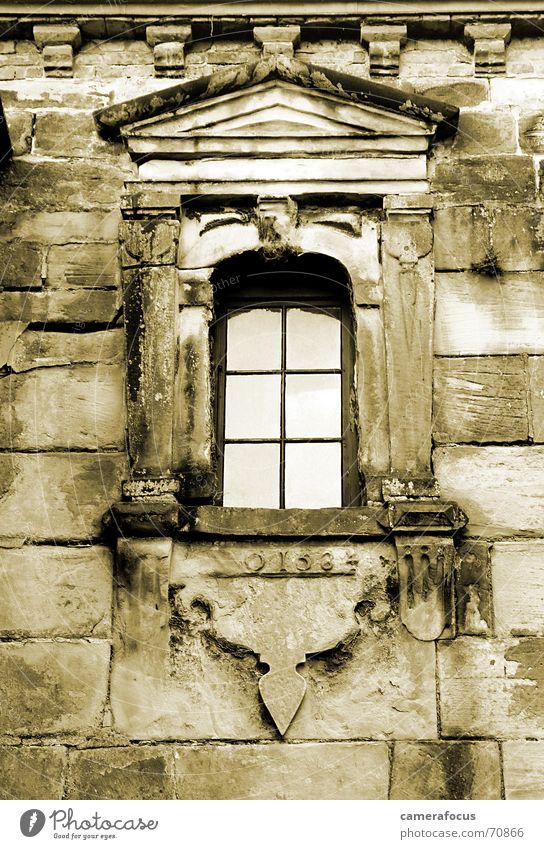 Kronborg - Anno 1564 Fenster Architektur Bauernhof Sepia Dänemark Romeo und Julia Renaissance Schloss Kronborg