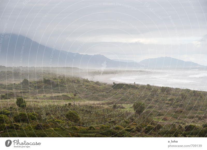 Ain't No Sunshine I Himmel Natur Ferien & Urlaub & Reisen Wasser Pflanze Sommer Baum Meer Landschaft Wolken Ferne Strand Umwelt Berge u. Gebirge Küste Gras
