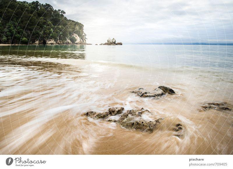 Split Apple Rock Natur Landschaft Urelemente Wasser Felsen Küste Strand exotisch schön Ferien & Urlaub & Reisen Neuseeland split apple rock Farbfoto