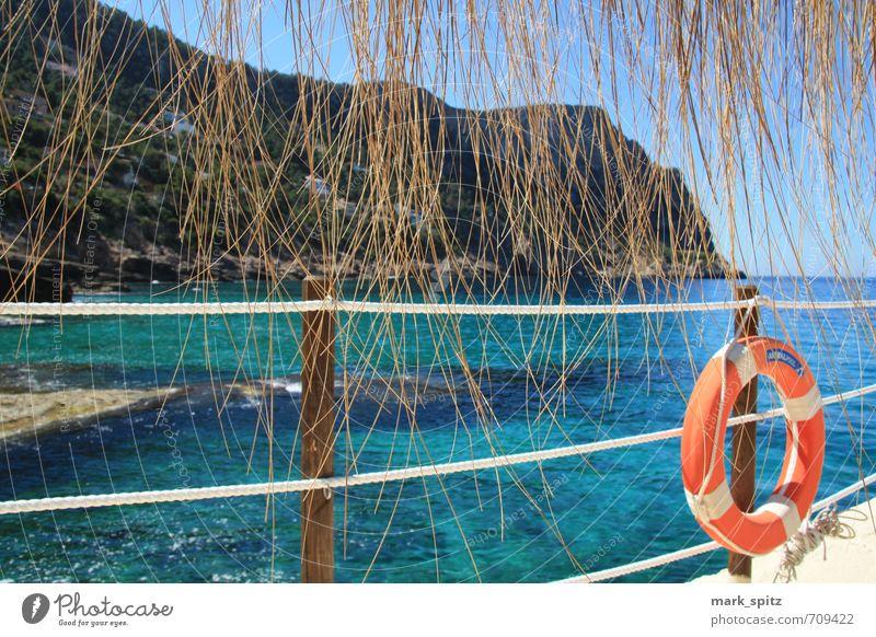 Beachclub Ferien & Urlaub & Reisen Sommer Sonne Meer Erholung Strand Lifestyle Wellen Tourismus Insel Ausflug Abenteuer Sonnenbad Mallorca Sommerurlaub Reichtum