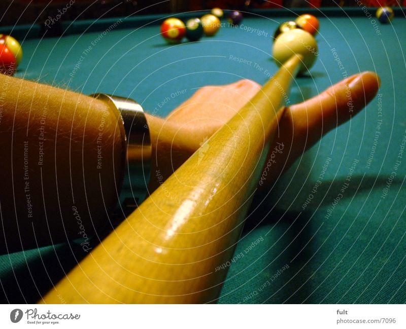 pool Poolbillard Schwimmbad Tisch Filz Stil Billard Kugel Bewegung
