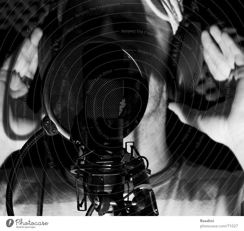 The booth Musik Werkstatt Mikrofon singen Produktion Sänger Gesang Stimme Sprechgesang Popstar Führerhaus Tonstudio Rapper Produzent