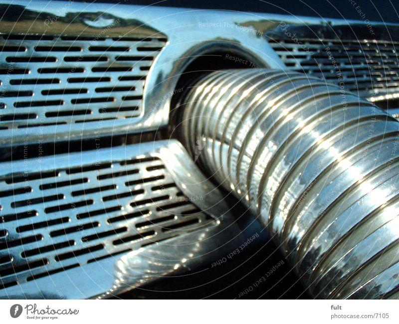 ansaugrohr Metall Stahl Chrom