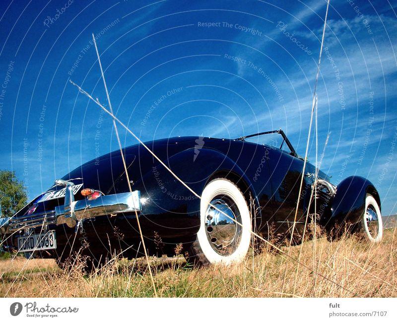 1936 cord Oldtimer Stil schwarz Verkehr PKW