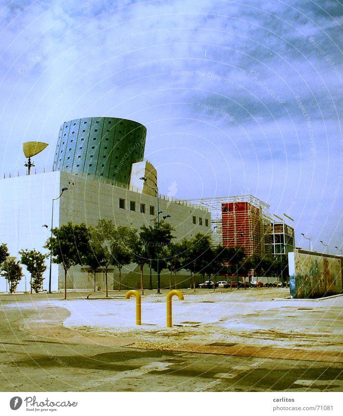 EXPO Sevilla Spanien Weltausstellung Verfall nutzlos Subvention verschwenden exposición universal de sevilla 1992 universal exhibition sevilla 92 Architektur