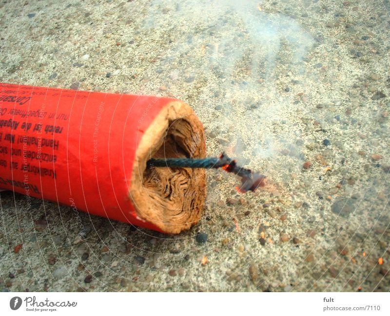 zündende idee Stil Brand Beton Dinge Feuerwerk brennen Idee Zündschnur