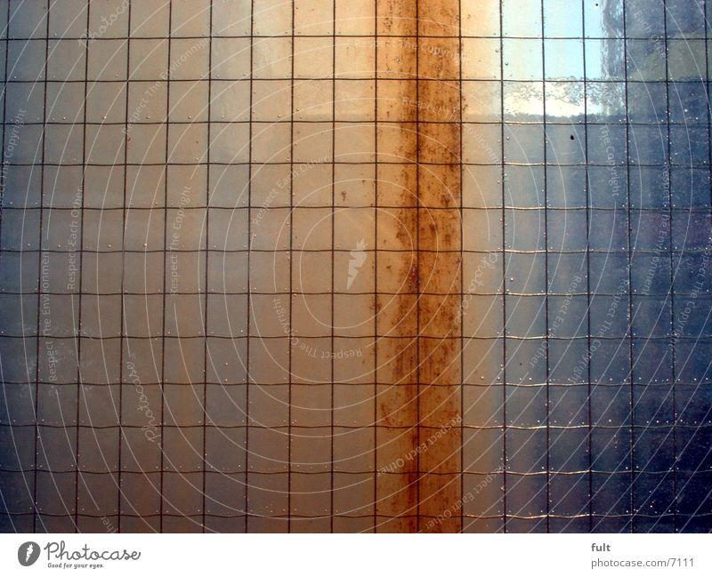 glasscheibe Glasscheibe Sicherheitsglas Architektur Rost