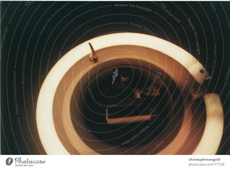 leucht_stoff_kreis Lampe analog Neonlicht erfassen Energiesparlampe