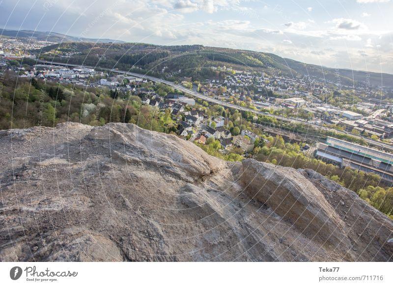 Unser Schlackeberg Umwelt Natur Landschaft Pflanze Hügel Felsen Alpen Berge u. Gebirge Gipfel Gefühle Freude Glück Lebensfreude Frühlingsgefühle Siegen Mine
