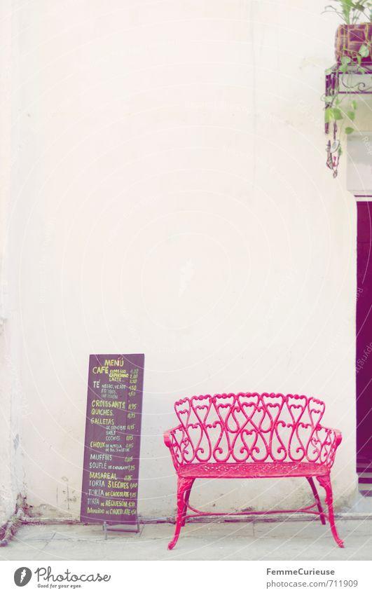 Havana. (II) Stadt weiß Erholung rot Haus Reisefotografie Wand Speise Mauer sitzen Pause Kaffee Bank Dorf Restaurant Café