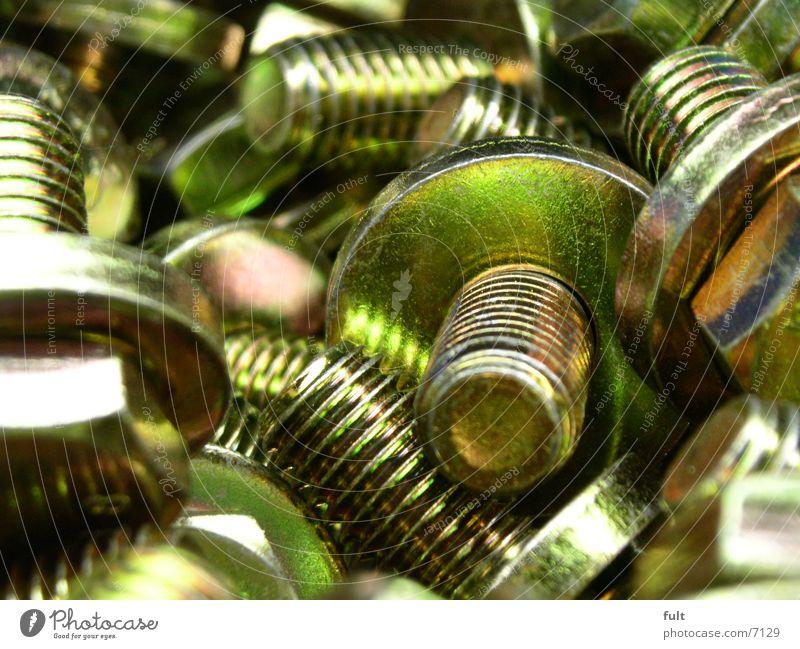 schrauben Stil Metall Technik & Technologie Schraube Elektrisches Gerät Drehgewinde