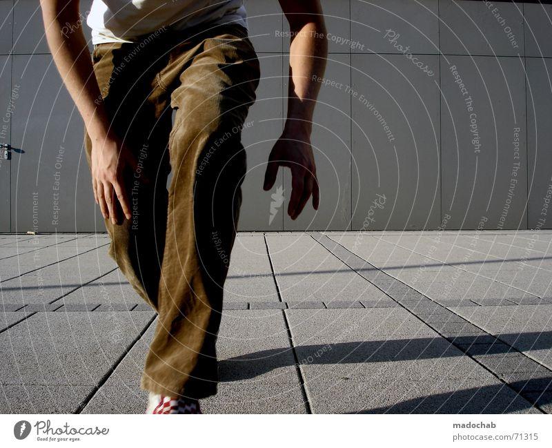 EVEN CLOSER THAN THIS | | male typ person mensch schleichen Mensch Mann Linie Lifestyle vorwärts Hose Typ Anschnitt Bildausschnitt schleichen schrittweise Freizeitbekleidung