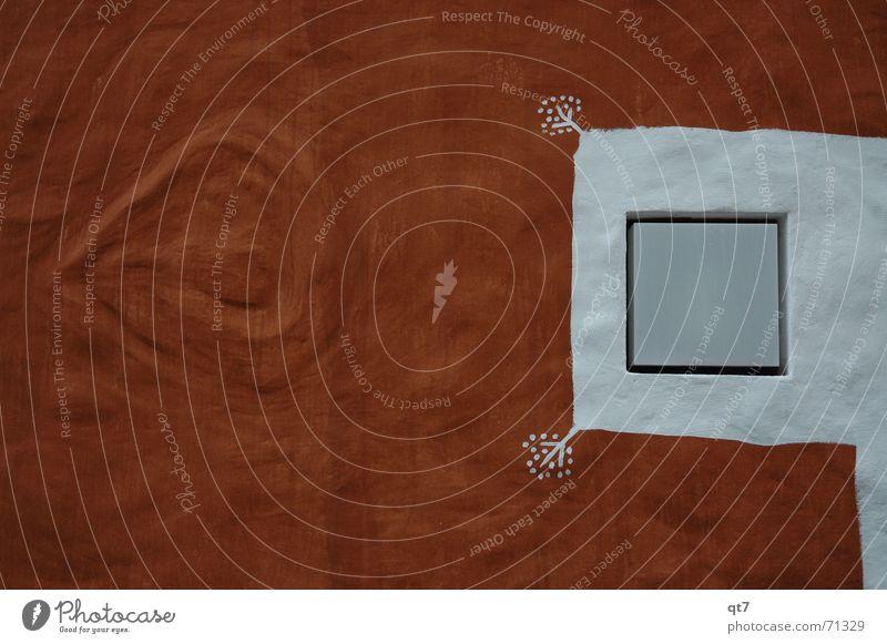 Licht ins Dunkel braun Physik Wand Silhouette weiß Quadrat Mauer Spielen Außenaufnahme Lampe Wärme Strukturen & Formen hell Herz Kontrast streichen Irritation