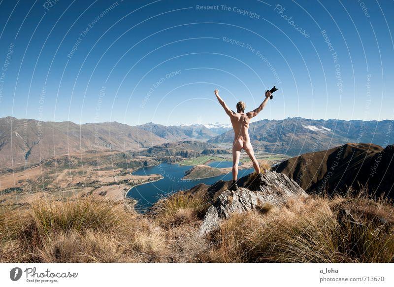 | 300 | FREE YOUR MIND Fotokamera maskulin Mann Erwachsene 1 Mensch Umwelt Natur Landschaft Pflanze Tier Urelemente Wolkenloser Himmel Horizont Sommer