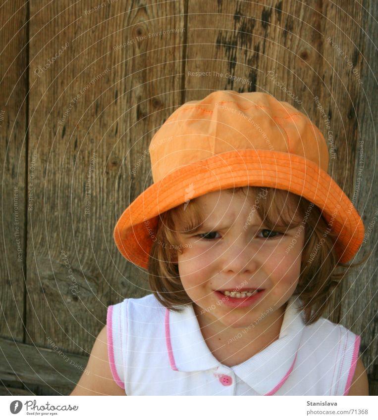 angry child Holzmehl Kind sad orange anger hair tired