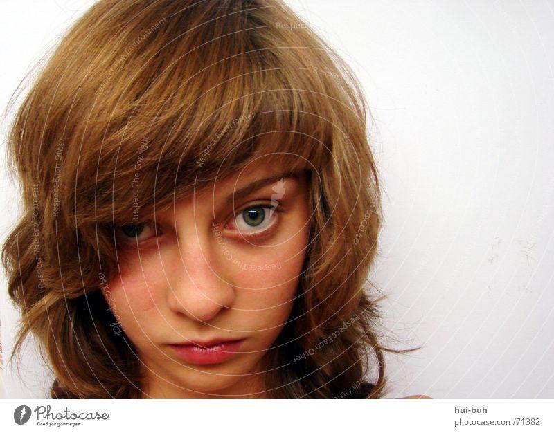 neigungen Haare & Frisuren schön braun Lippen schmal Neigung unten tief Kopf augenbraun Auge Mensch Blick Treppe