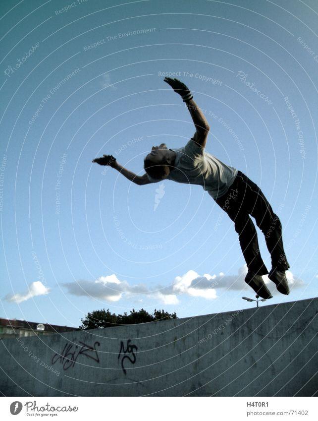 Far Cry Himmel Sport Freiheit träumen fliegen frei Luftverkehr Le Parkour Schwerkraft