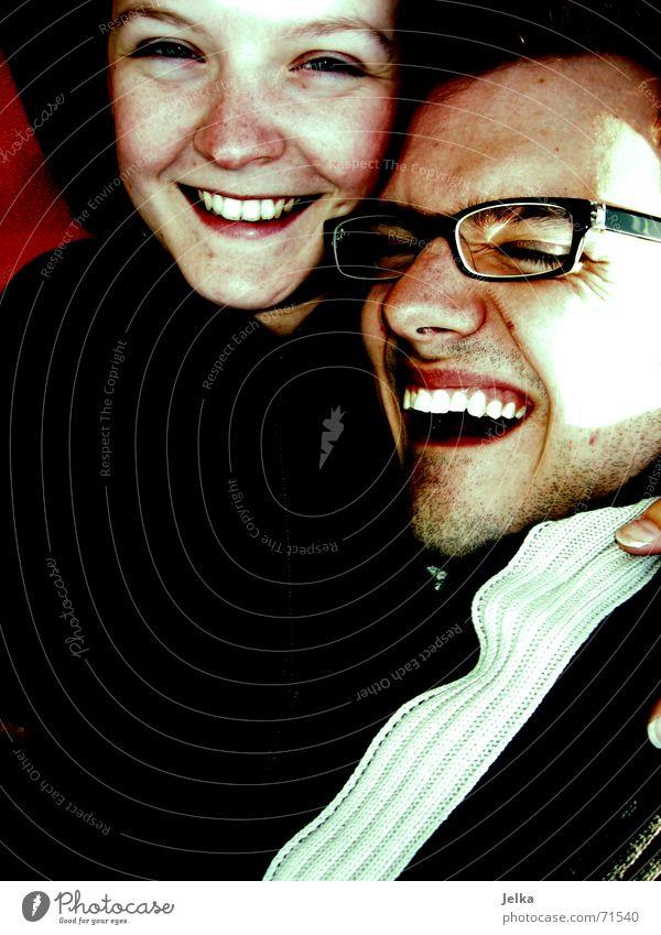 photoraver and me Glück Gesicht harmonisch Ferien & Urlaub & Reisen Sommer Sonne Mensch Frau Erwachsene Mann Freundschaft Paar Auge Nase Mund Zähne Brille