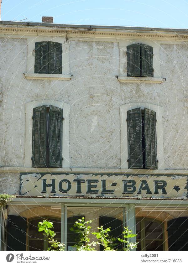 Herberge zur Gemütlichkeit Ferien & Urlaub & Reisen Tourismus Abenteuer Haus Hotel Fassade Erholung schlafen Häusliches Leben alt dreckig ruhig Einsamkeit
